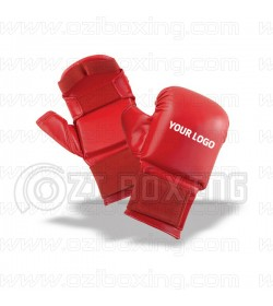 PU Artificial Leather Mitts Design your own 100% Custom and Personalized Design OEM Service