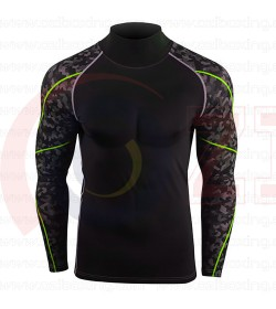 Sublimated Rash Guard Design your own 100% Custom and Personalized Design OEM Service