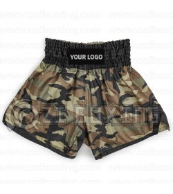 Camouflage Thai Shorts Design your own 100% Custom and Personalized Design OEM Service